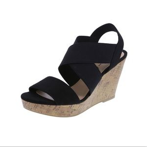 AMERICAN EAGLE Strappy Wedge Sandal